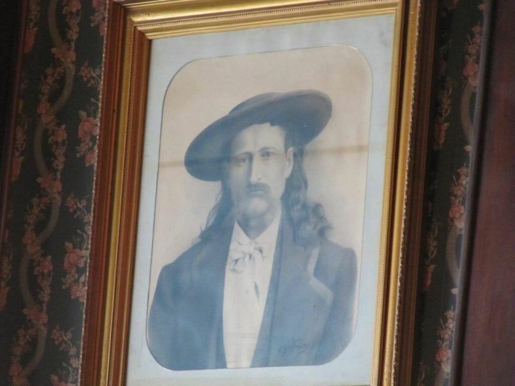cuadro en el Irma de Buffalo Bill, su antiguo propietario