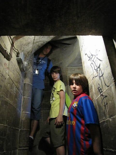 escaleras a la cupula Florencia