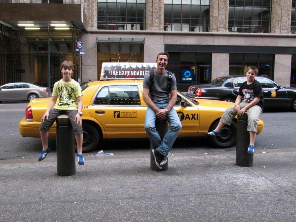 taxi NY, 42 street