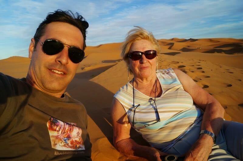 viajeros a Marrakech