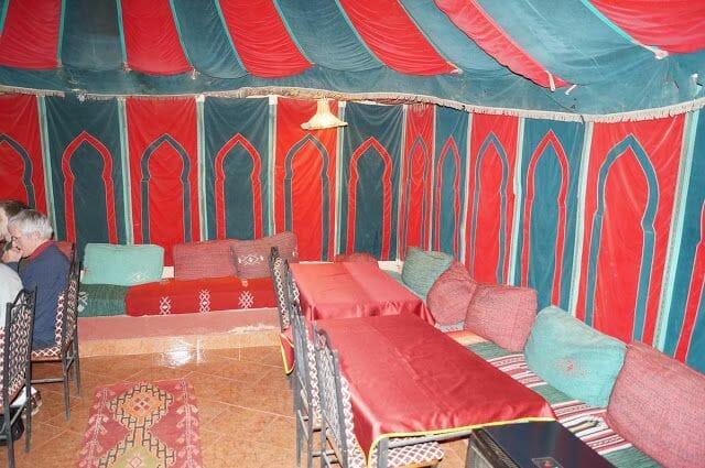 hotel kasbah de Tomboctou en Tinghir jaima