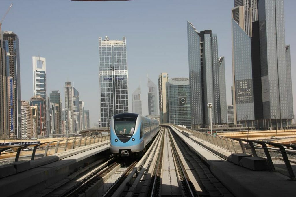 Dubai subway