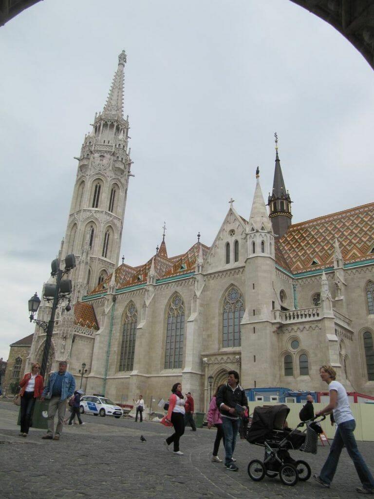 Iglesia católica de Matías, iglesias de Budapest