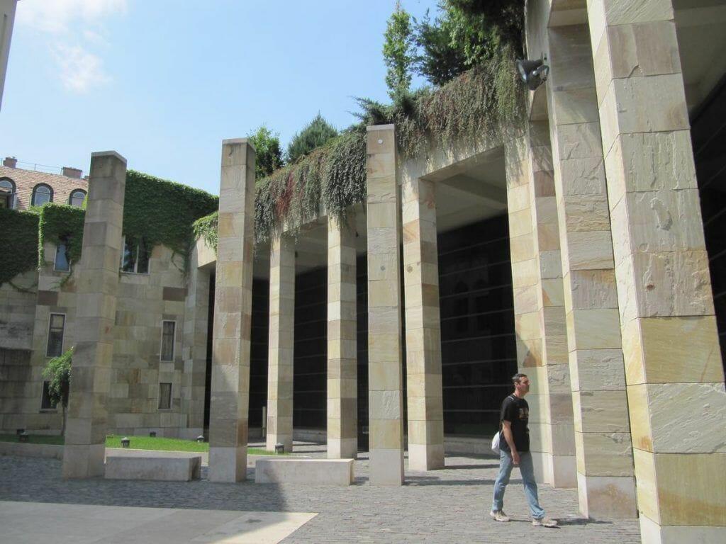Budapest memorial holocausto