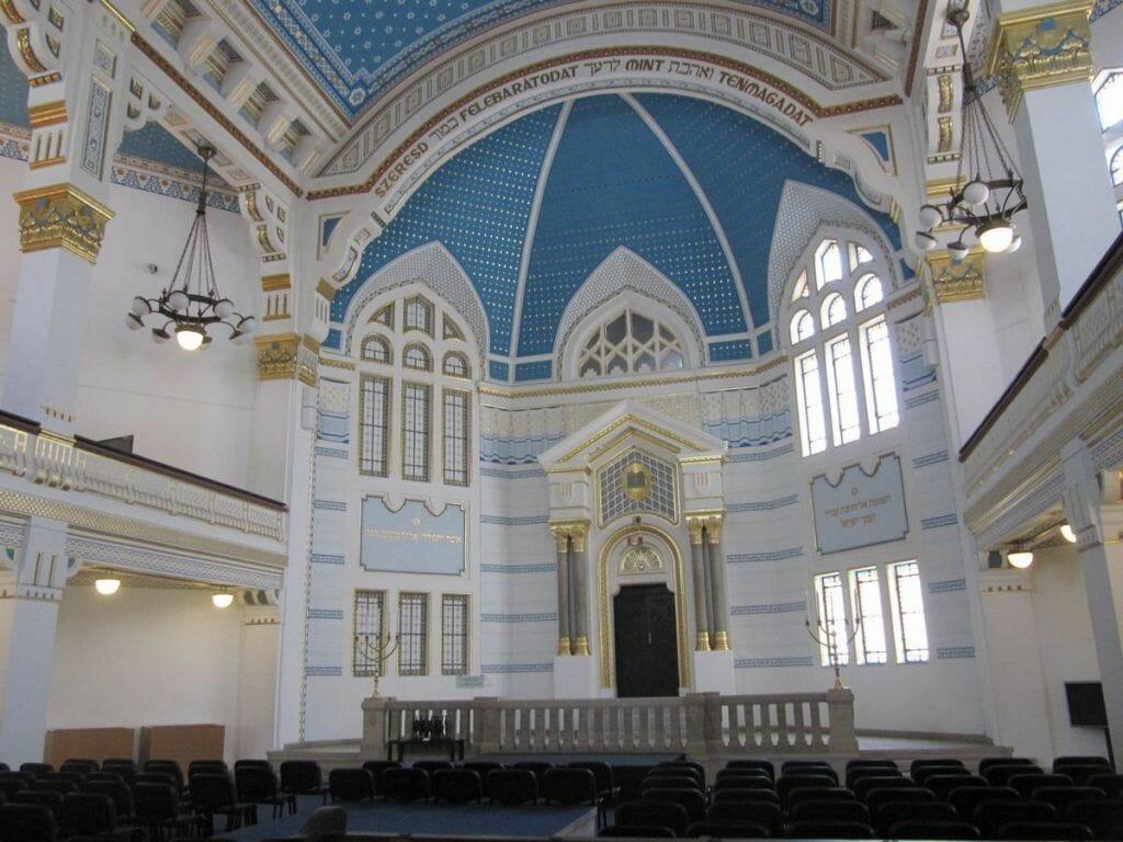 Sinagoga del Centro Memorial del Holocausto de Budapest