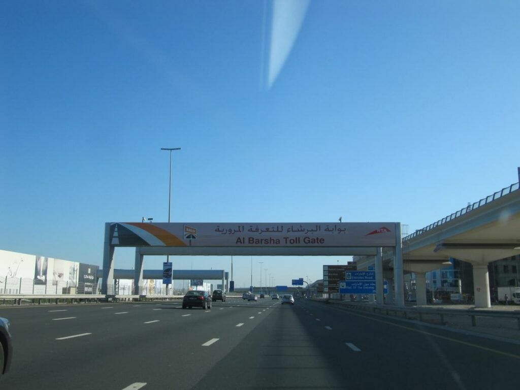 peaje Sheikh Zayed Road