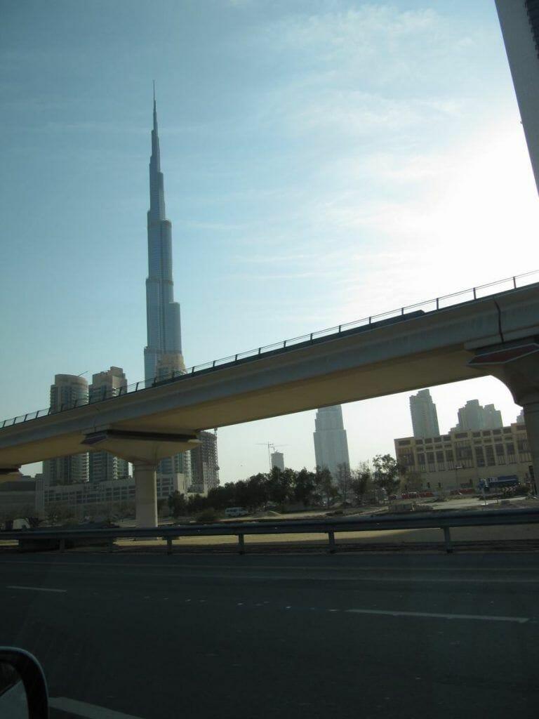 Sheikh Zayed Road, Dubai streets