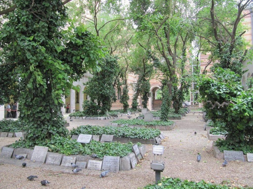 cementerio de la sinagoga de budapest