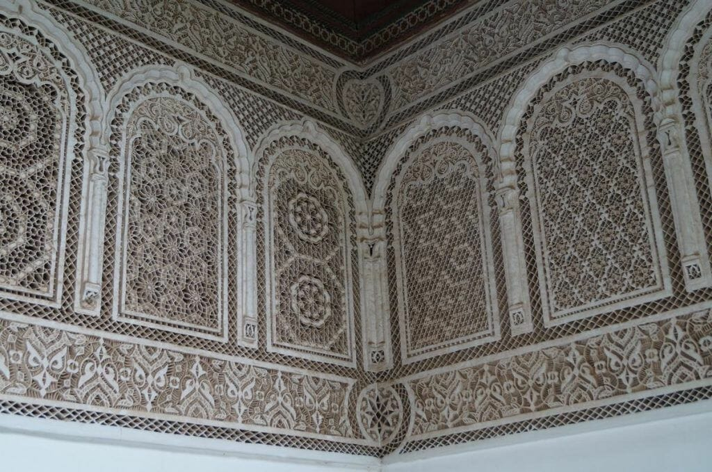 palacio bahia de Marrakech, arte islamico, palacios marrakech