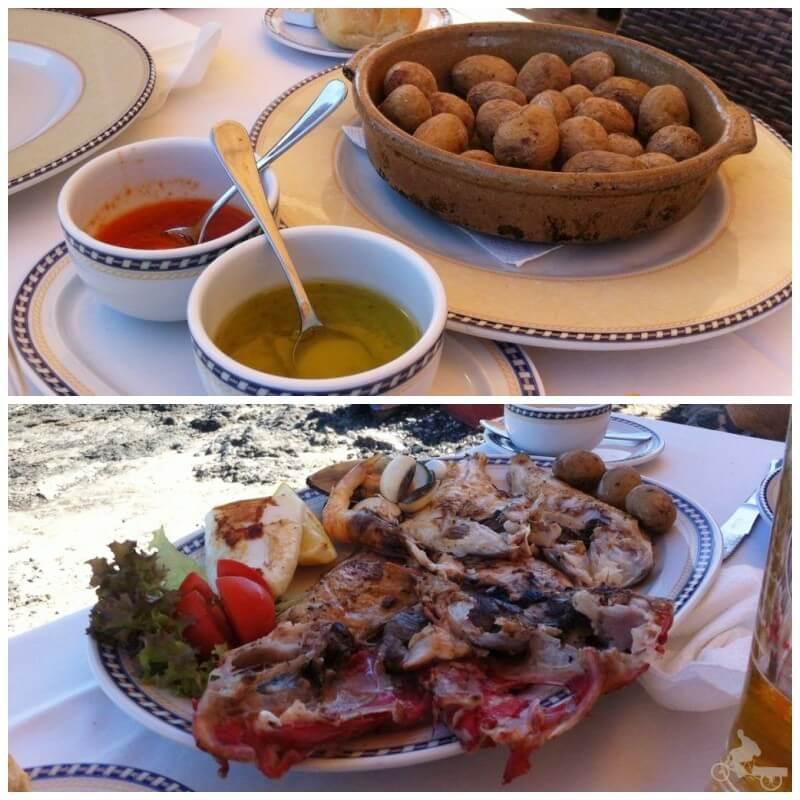 comida restaurante corralejo