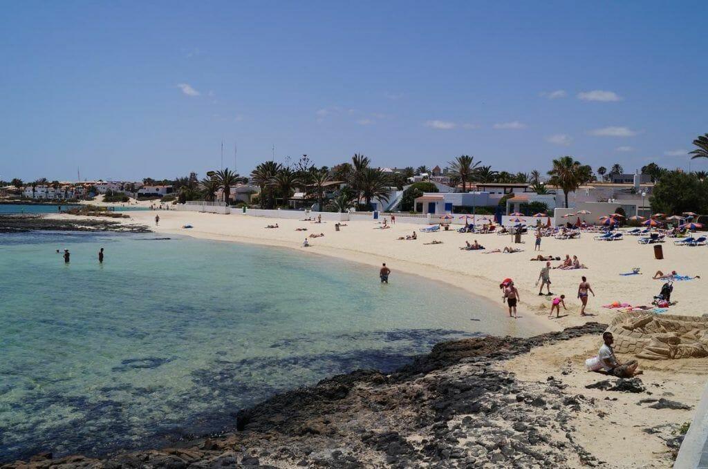 playa de Corralejo, playas fuerteventura