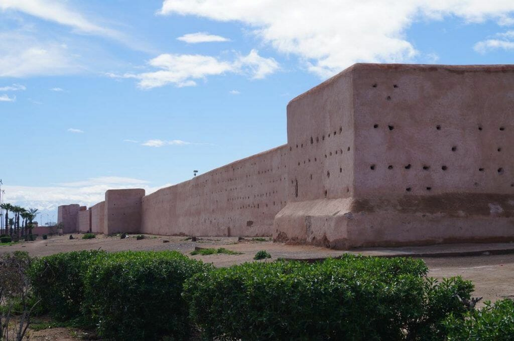 Muralla que ver en Marrakech