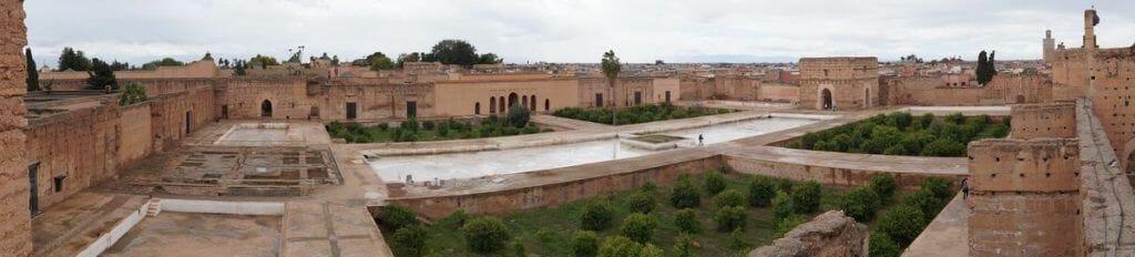 palacio Badi imprescindible que ver en Marrakech