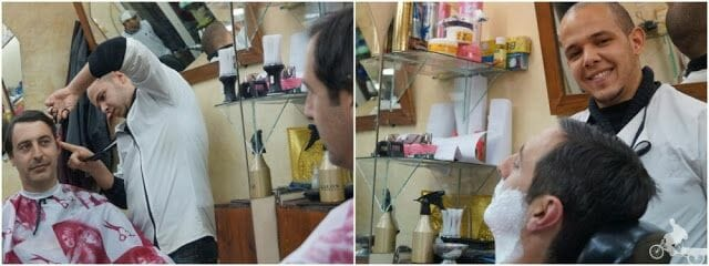 cortarse el pelo en marrakech