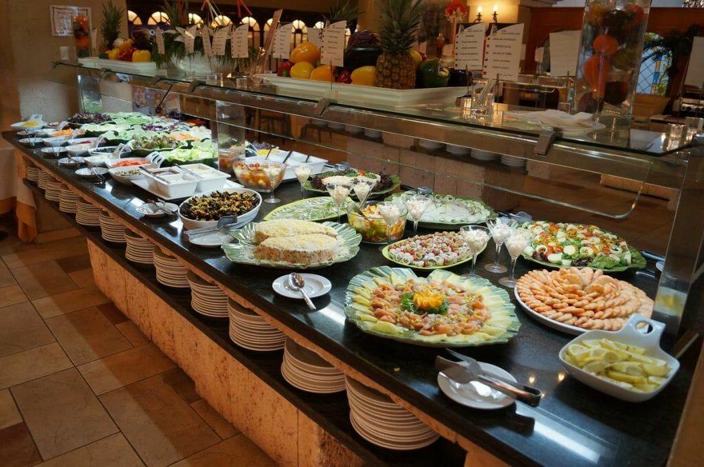 Marina d´Or buffet del hotel 5 estrellas