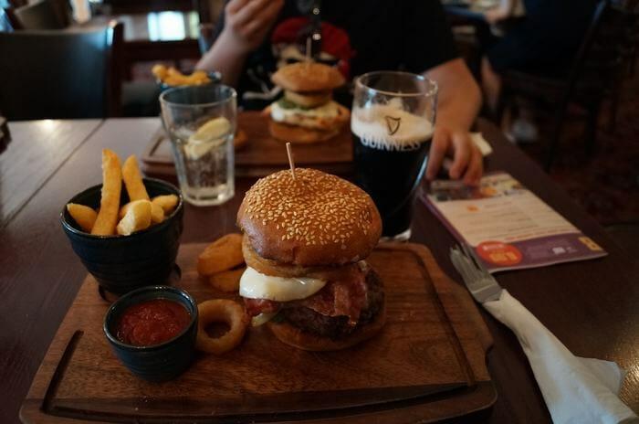 hamburguesas pub londres