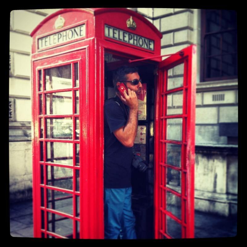 cabina de telefono inglesa