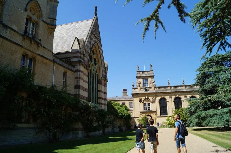 trinity college oxford, universidades inglesas, oxford