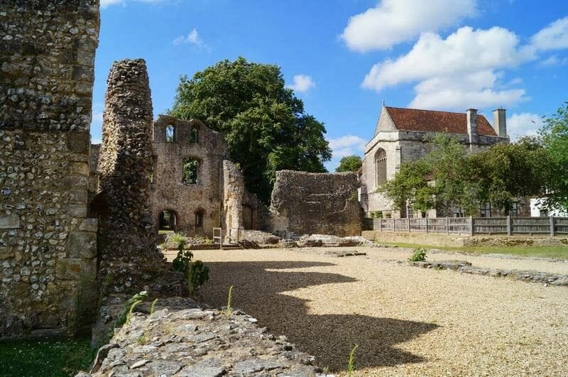 castillo de Wolvesey, Wolvesey castle, winchester