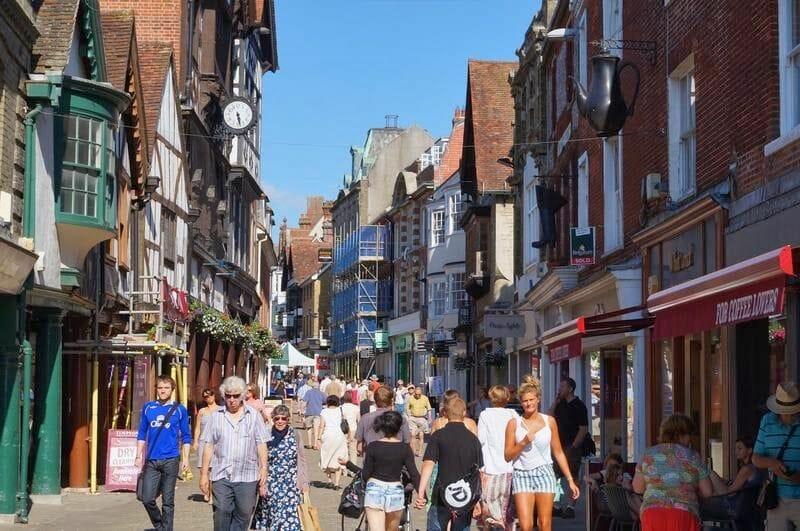 High street winchester