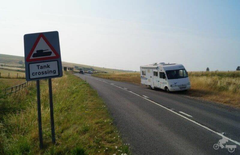 carreteras inglaterra en autocaravana