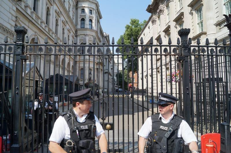 Scotland Yard siempre vigilaDowning street