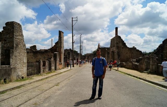El pueblo fantasma de Oradour-sur-Glane