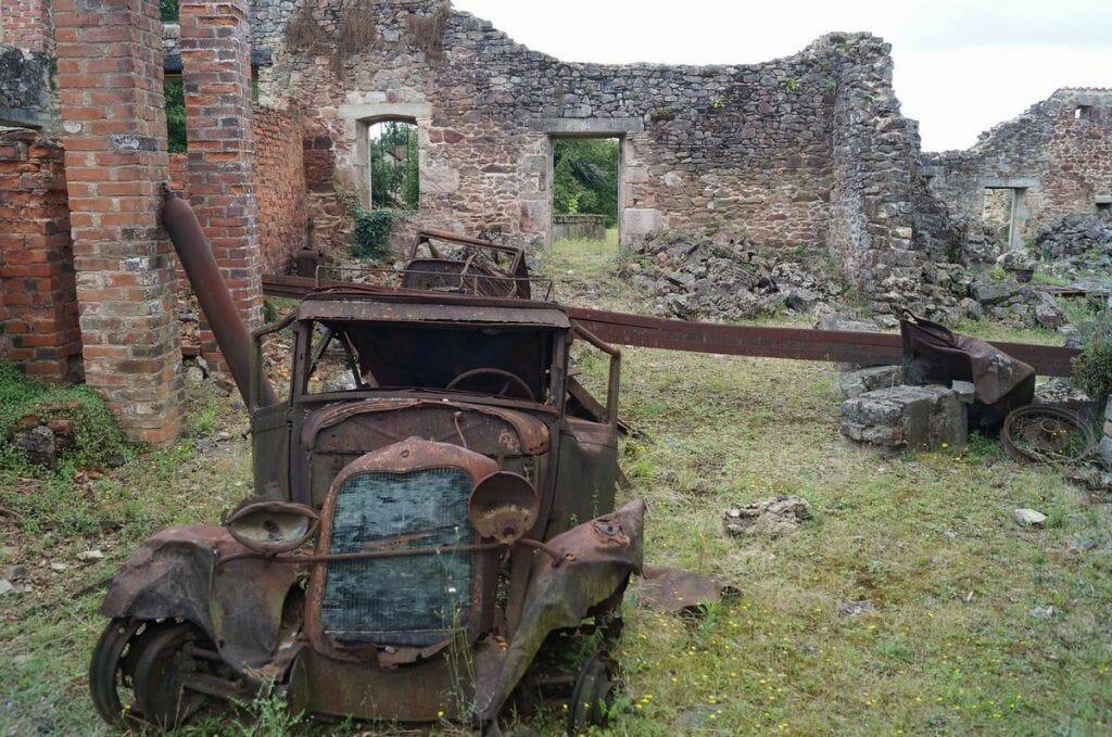 pueblo fantasma de Oradour-sur-Glane