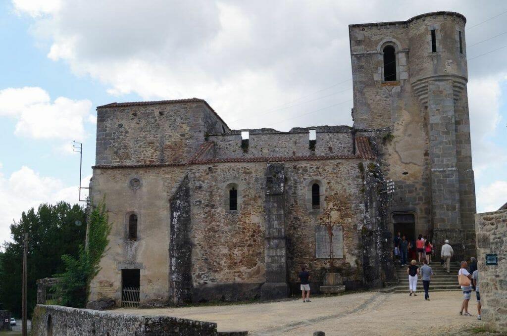 iglesia Oradour sur glane