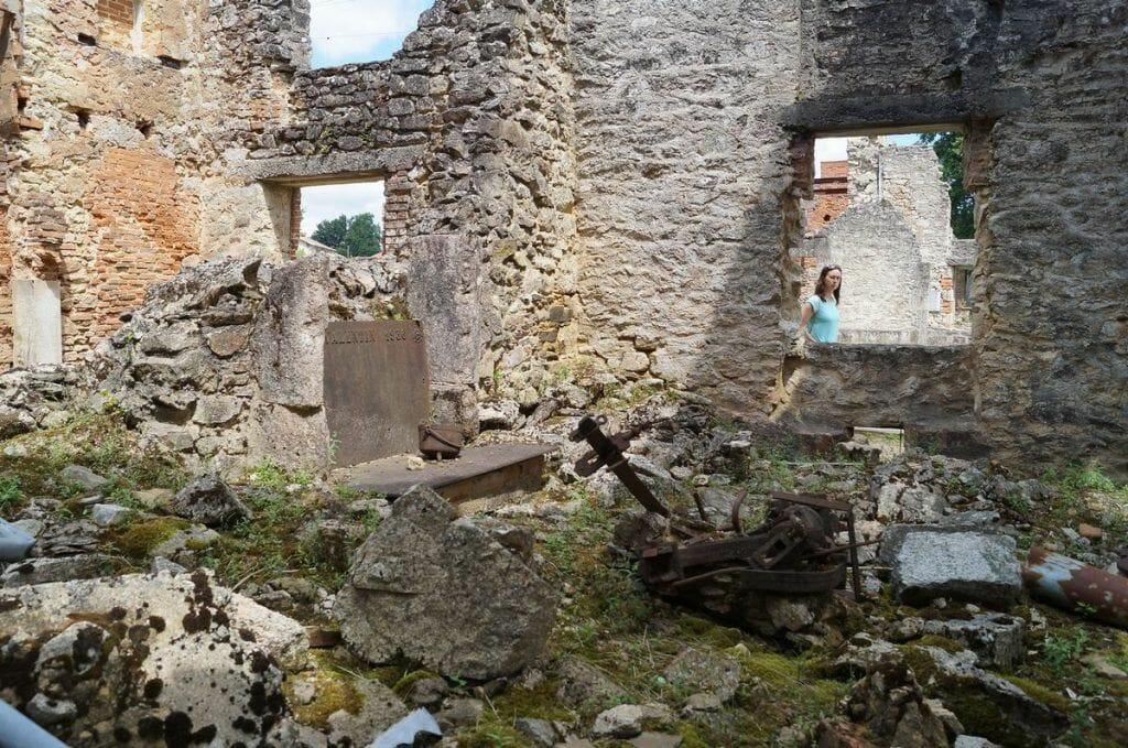 oradour-sur-glane ruinas