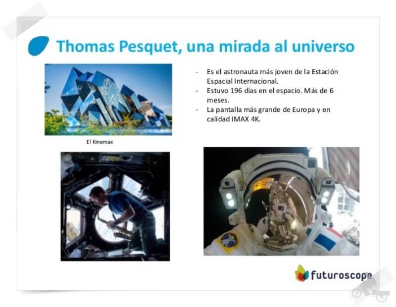 thomas pesquet futuroscope