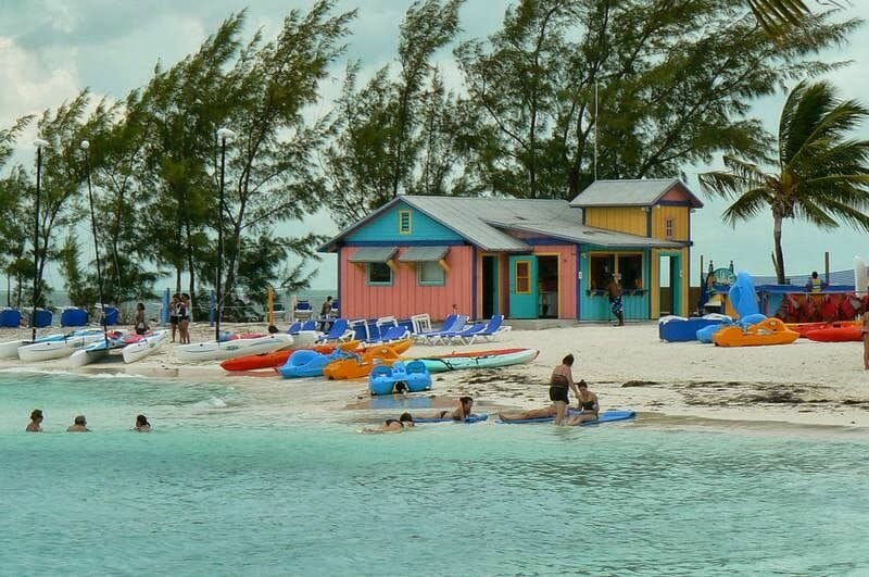 Coco cay, cayo Norman, Little Stirrup, islas Berry, playas del caribe, playas de Bahamas