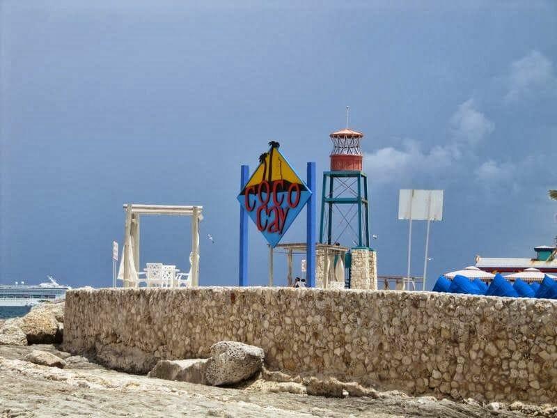 isla CocoCay en las Bahamas
