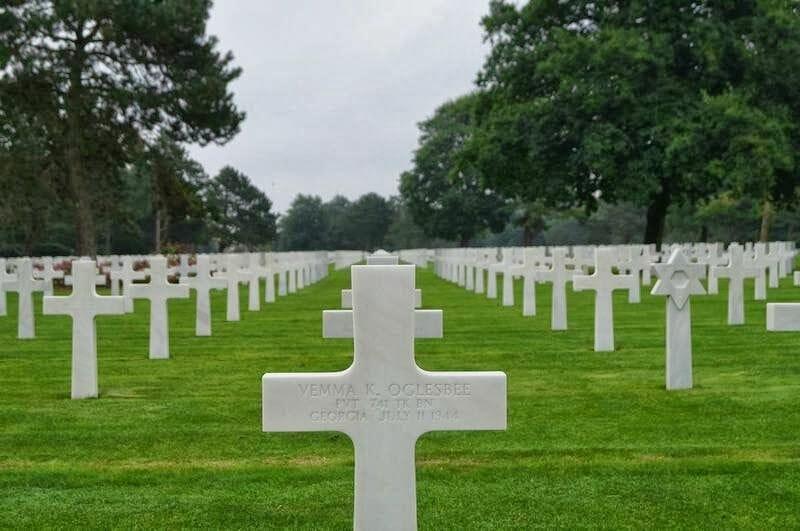 cementerio americano de las cruces