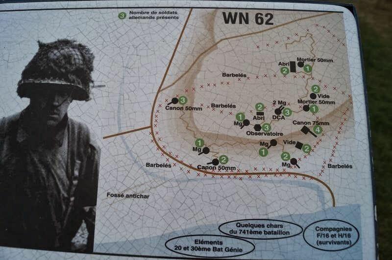 posiciones alemanas y sus MG en normandía