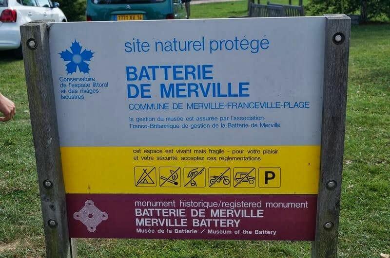 bateria merville normandia