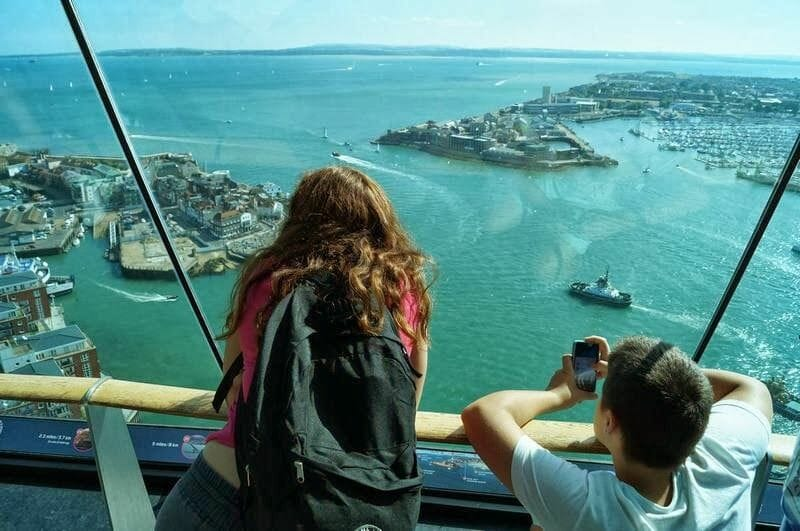 Spinnaker tower vistas