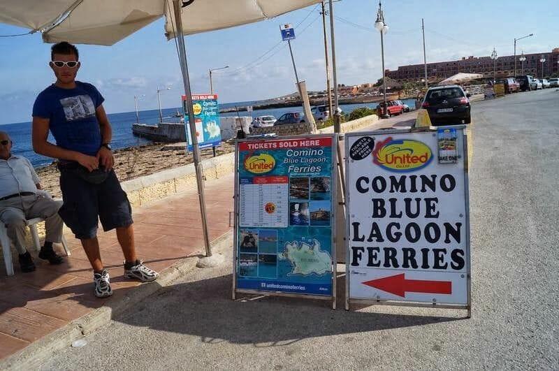 Comino Blue lagoon ferries