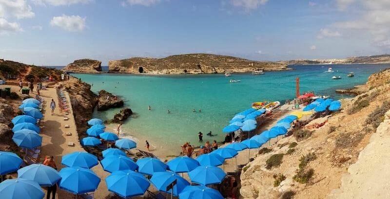isla de Comino Malta