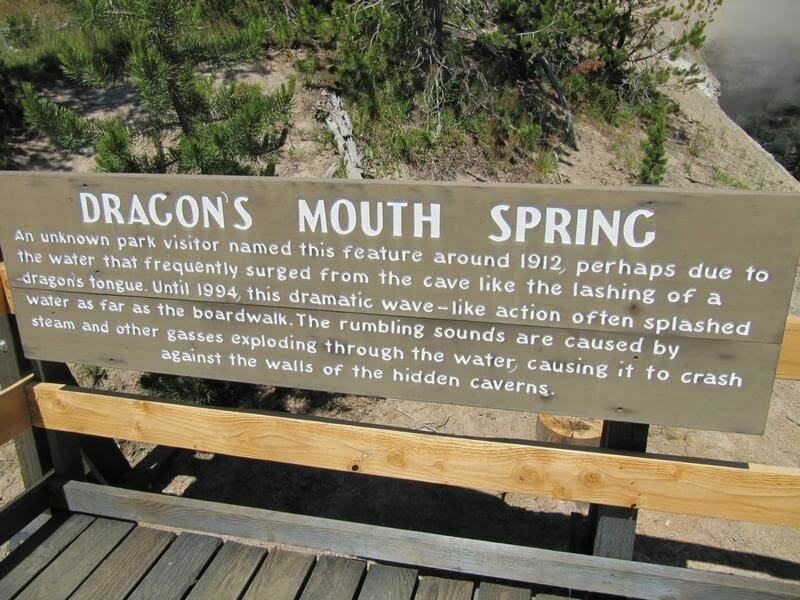 dragons mouth spring