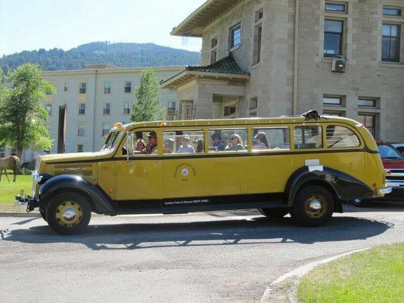 coche de yellowstone