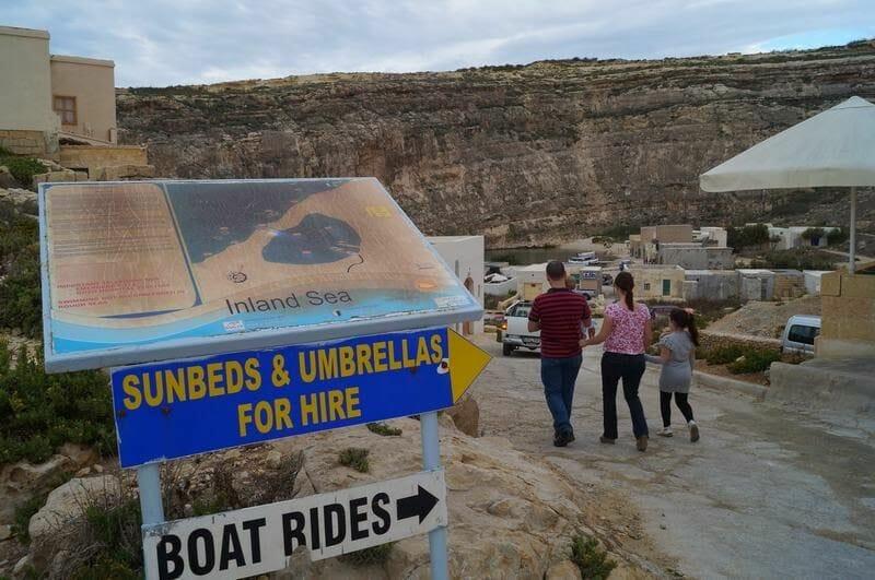 inland sea beach, playa de inland sea, , isla de gozo, imagenes de malta, fotos de malta, erosion en la costa, erosion del mar