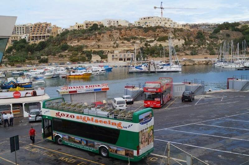 bus turístico de Gozo