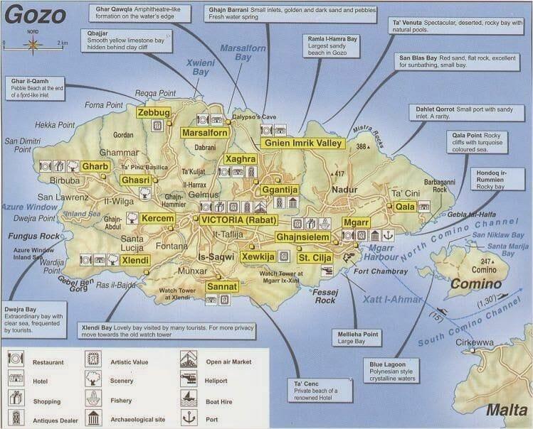 Isla De Gozo Malta Que Ver Y Que Hacer Mi Baul De Blogs