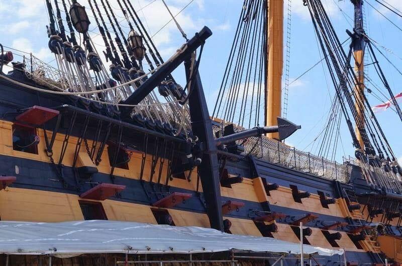 HMS Victory, barcos en Portsmouth, Portsmouth Historic Dockyard, puerto de Portsmouth, barcos museo, barcos del siglo XIX, barcos ingleses, batalla de Trafalgar, barco de Nelson