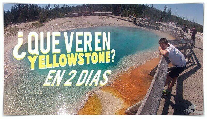 qué ver en yellowstone en 2 días