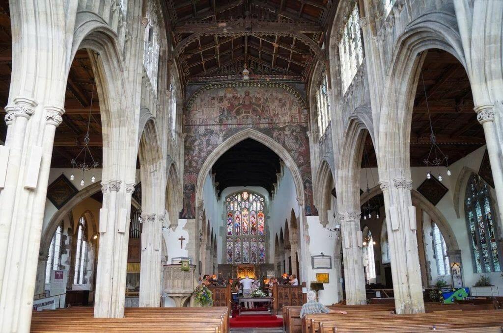 iglesia de san Thomas Becket Salisbury