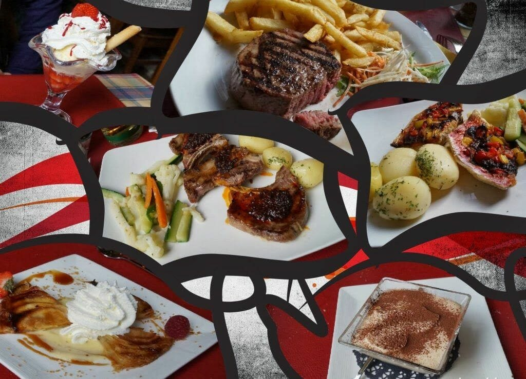 comida restaurante amon nanesse