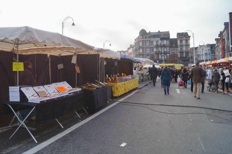 mercado navidad de Lieja