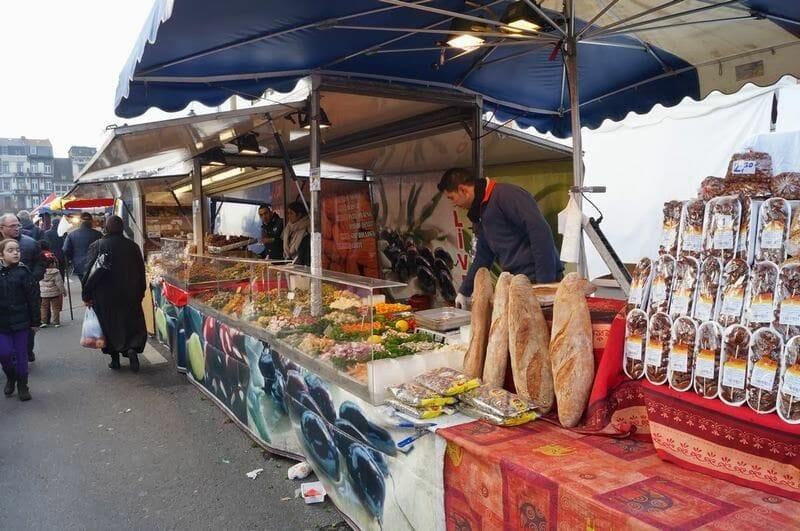 puestos callejeros de lieja